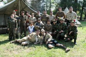 Příslušníci skotských jednotek, resp. KVH věnujících se skotským vojákům