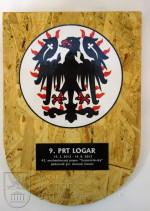 Pamětní deska 9. kontingentu AČR mise ISAF PRT Lógar