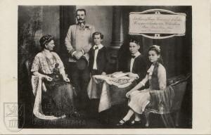 F. F. d´Este s rodinou, 1912–1913.