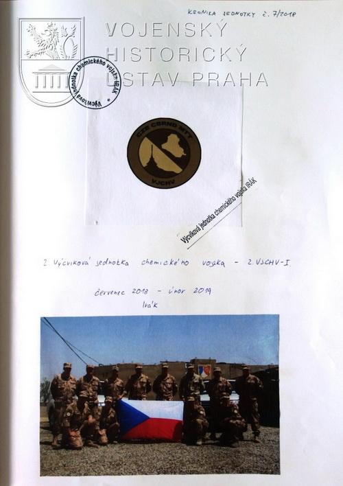 Kronika 2.VJCHV-I ze základny Al-Taji