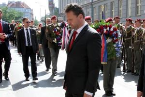 Předseda Polanecké sněmovny Parlamentu České republiky Radek Vondráček