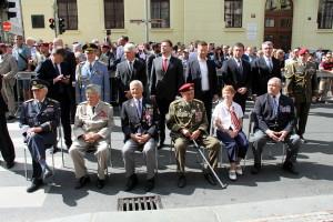 Pietní akt v Resslově ulici 18. června 2019