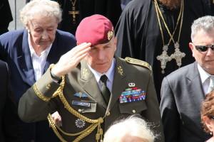 Generálmajor Miroslav Hlaváč, zástupce náčelníka Generálního štábu Armády České republiky