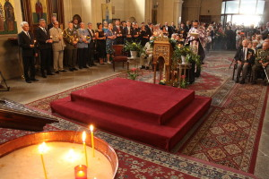 Bohoslužba v chrámu sv. Cyrila a Metoděje