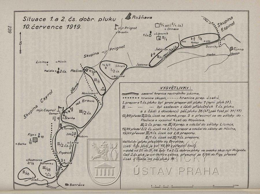 JEŽEK, Zdeněk. Účast dobrovolníků v bojích o Slovensko a Těšínsko v letech 1918‒1919