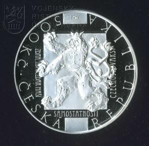 Pamětní mince k 100. výročí Washingtonské deklarace