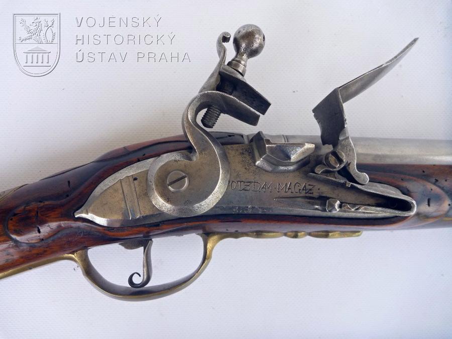 Pruská pěchotní puška vzor 1723