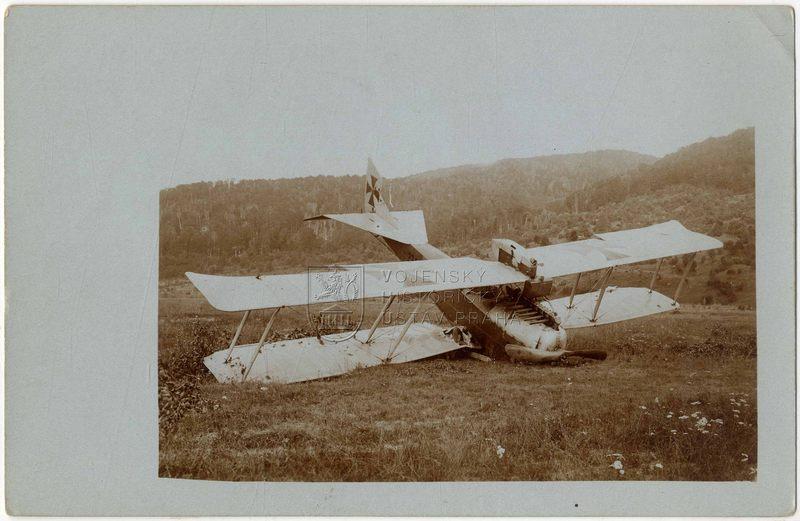 Rakousko-uherský letoun Hansa-Brandenburg C.I