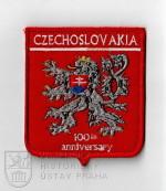 Rukávový znak k 100. výročí vzniku Československa, 2018