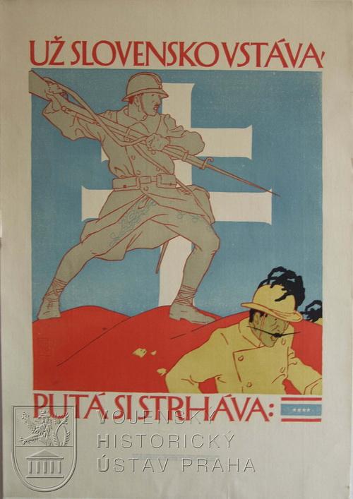 Vojtěch Preissig, Už Slovensko vstáva, putá si strháva, 1918