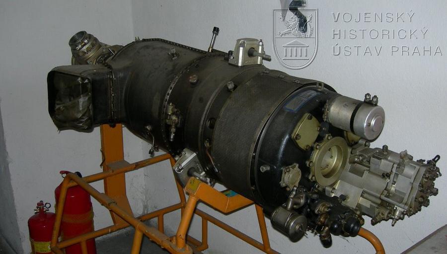 Motor VZLÚ M-601 CD