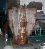 Zadní část rakety Wasserfall