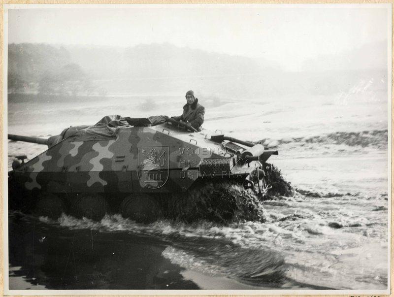 Čs. stíhač tanků ST I – Jagdpanzer 38(t) / Hetzer