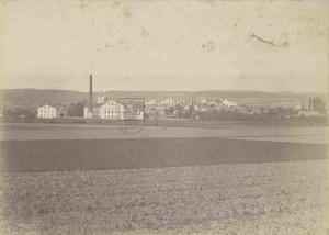 Dvůr Králové nedlouho po prusko-rakouské válce - místo střetnutí rakouských a pruských vojsk dne 29. června 1866