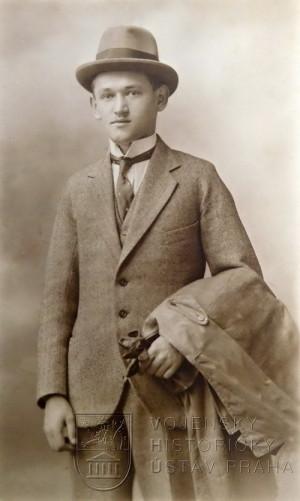 Jan Táborský po demobilizaci v roce 1919