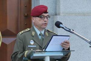 Zástupce náčelníka GŠ AČR generálmajor Milan Schulc