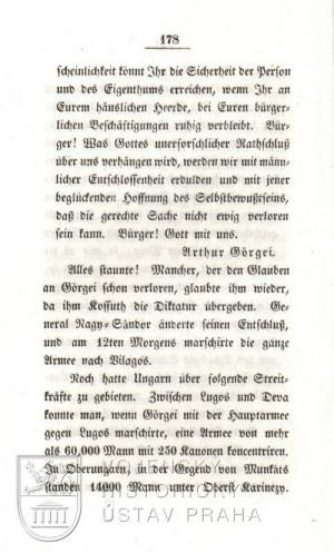 Györgyho provolání k uherským občanům, druhá strana.