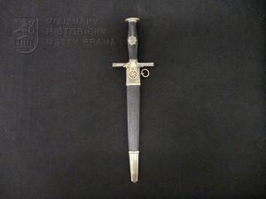 Německá dýka pro velitele RLB – Reichsluftschutzbund (Říšský svaz pro protiletecká opatření), I. model