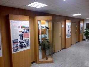 """Logo projektu """"Posádková muzea pod záštitou Vojenského historického ústavu Praha"""" je používáno na všech tiskových materiálech projektu."""