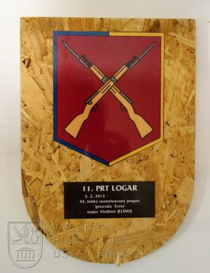 Pamětní deska 11. kontingentu AČR mise ISAF PRT Lógar