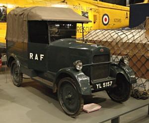 Dodávka automobilky Trojan sloužila v RAF od roku 1927. FOTO: Jaroslav Beránek