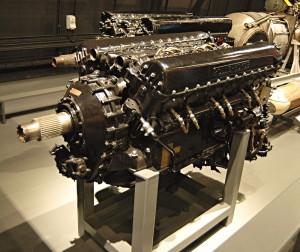 Rolls-Royce Merlin III představuje typ motoru, který během Bitvy o Británii poháněl britské stíhačky Hurricane a Spitfire.  FOTO: Jaroslav Beránek
