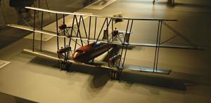 Model experimentálního jednoplošníku s dlouhým doletem společnosti Fairey z přelomu dvacátých a třicátých let minulého století. FOTO: Jaroslav Beránek