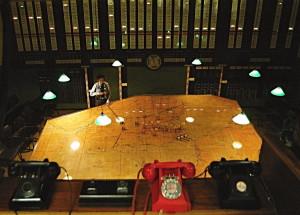 Takto vypadá hlavní sál podzemního velitelství 11. skupiny dnes. FOTO: Jaroslav Beránek