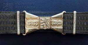 Vycházkový pás pro důstojníky, ČSR, 1930