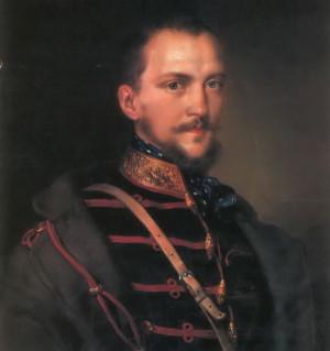 Arthúr Görgey, uherský generál, ministr války a poslední diktátor povstalých Uher. Zdroj: Wikipedia.