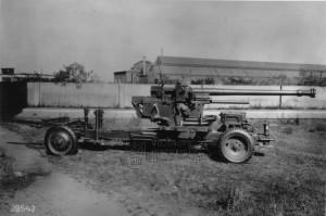 7,5 cm kanón proti letadlům vz. 37 v konfiguraci pro transport