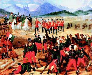 Kapitulace u Világoše se stala synonymem hanby a potupy. Zdroj: Wikipedia.