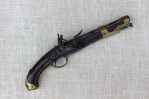 Celkový pohled na pistoli před restaurováním. FOTO: Jakub König