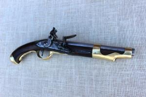 Pistole po restaurování. FOTO: Jakub König