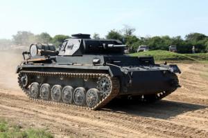 Replika německého tanku