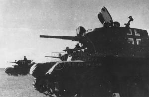 Kořistní sovětské tanky BT-7 v německých službách