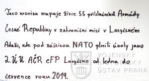 Kronika 2. rotního úkolové uskupení AČR eFP Lotyšsko
