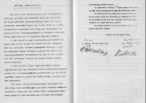 Německá verze tajného protokolu německo-sovětské smlouvy o neútočení