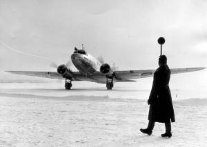 Zahájení pravidelného leteckého spojení mezi Moskvou a Berlínem 21. ledna 1940 (Foto: Národní archiv)