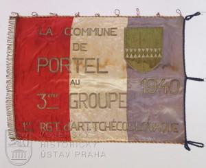 Prapor III. dělostřeleckého oddílu dělostřeleckého pluku 1
