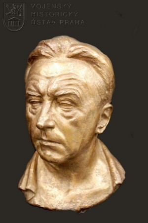 Břetislav Benda, Autoportrét, 1956.