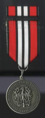 """Pamětní odznak 42. mechanizovaného praporu """"Svatováclavského"""""""
