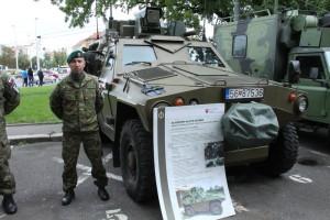 Vernisáže se zúčastnili i příslušníci slovenské armády