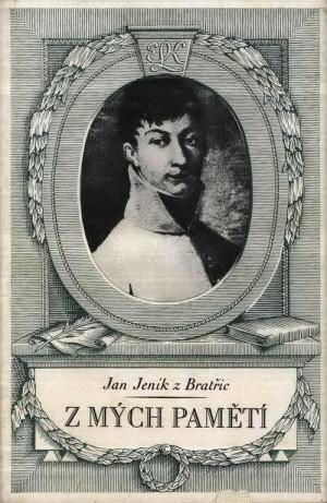 Obálka knihy s portrétem Jana Jeníka z Bratřic.