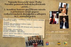 Benefiční koncert v chrámu v Resslově ulici v Praze 2