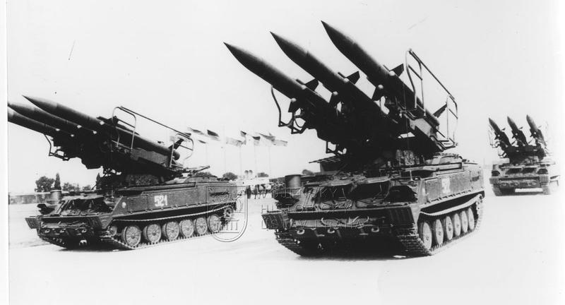 Odpalovací zařízení protiletadlového raketového systému 2K12 Kub