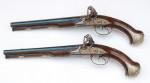 Pár dvouhlavňových pistolí puškaře Penela