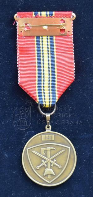Pamětní odznak 20. výročí vzniku Vojenských hasičských jednotek