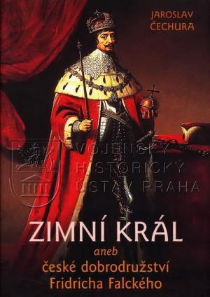 Obálka knihy s korunovačním portrétem Fridricha Falckého.