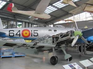 Německá stíhačka Messerschmitt Bf 109E. FOTO: Ivo Pejčoch